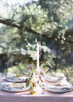 6-2016-wedding-trends-1217-courtesy. Prediction: Blush and Creams Very soft palettes. For instance, a blush wedding gown with creamy flowers, or blush details on the table that are subtle and classic. —Brie Walter, Brie's Honeybees & Flowers