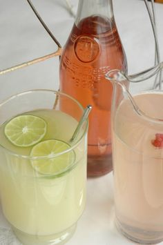 Bring on the Spring drinks with ingredients straight from the garden, looks refreshing!