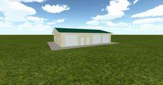 Cool 3D #marketing http://ift.tt/2foPliR #barn #workshop #greenhouse #garage #roofing #DIY