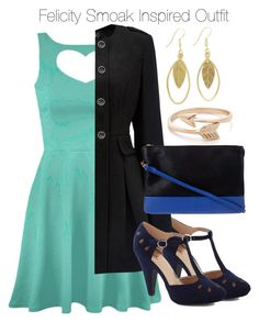 Arrow - Felicity Smoak Inspired Outfit by staystronng on Polyvore featuring polyvore fashion style Forever New dress Arrow felicitysmoak