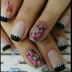 In our lives, there must be a lot of girls who like nails! Imagine that your delicate fingers have very delicate nails on your fingers,… Gorgeous Nails, Love Nails, Pretty Nails, Colorful Nail Designs, Nail Art Designs, Nail Studio, Cool Nail Art, French Nails, Nail Arts