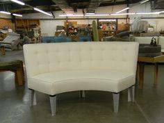 Captivating HF 223   Curved Banquette | Hallman Furniture