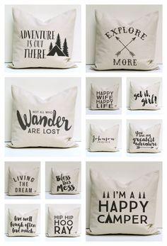 Pillow Covers via Hearts & Sharts on Etsy