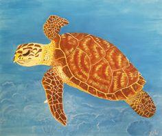 Erin Stefanak's Art: Sea Turtle