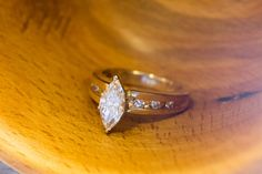 You are viewing a stunning retro marquise diamond engagement ring. It is crafted from Yellow gold and is hallmarked on the inside of Holiday Jewelry, Jewelry Gifts, Unique Jewelry, Marquise Diamond, Coupon Codes, Bliss, Diamond Earrings, Joy, Engagement Rings