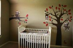 sock monkey nursery - Google Search