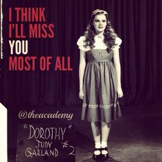 """Screen test for Judy Garland, """"Wizard of Oz"""""""