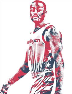 John Wall Washington Wizards Pixel Art 37 Art Print by Joe Hamilton. All prints are professionally printed, packaged, and shipped within 3 - 4 business days. Joe Hamilton, John Wall, Washington Wizards, Thing 1, Basketball Players, All Art, Pixel Art, Fine Art America, Nba