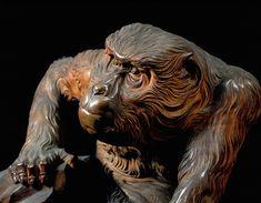 老猿 (高村光雲作)