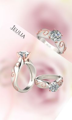 Vintage engagement rings from Jeulia Jewelry. Shop our full collection with your lover today! Jewelry Rings, Jewelery, Jewelry Accessories, Jewelry Shop, Unique Jewelry, Engagement Jewelry, Vintage Engagement Rings, Diamond Engagement Rings, Pretty Rings
