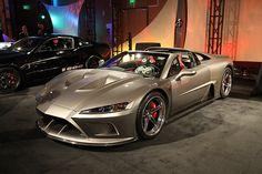 North American International Auto Show - Falcon Shows Their Supercar