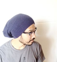 Slouch Beanie Hatready to ship men accessory urban by MissTopKnot