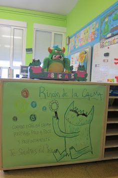 LA CLASE DE LUNA: EL RINCÓN DE LA CALMA Preschool Education, Preschool Curriculum, Kindergarten Activities, Classroom Art Projects, School Projects, Classroom Decor, Social Emotional Activities, Spanish Posters, Bon Point