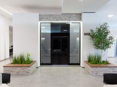 #pirnar #alum8nium #glass #big #door #design #innovation #tecnology Door Design, Contemporary, Modern, Entrance, Innovation, Doors, Interior Design, Luxury, Big