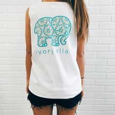Stay cool this summer in one of our pocketed tanks! Super soft cotton with a comfy & oversized fit, pair it with your favorite shorts or throw it on over yo