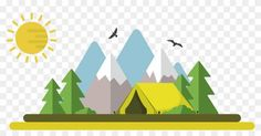 Image result for camping illustration Survival Knife, Pottery, Camping, Illustration, Image, Art, Hall Pottery, Campsite, Art Background