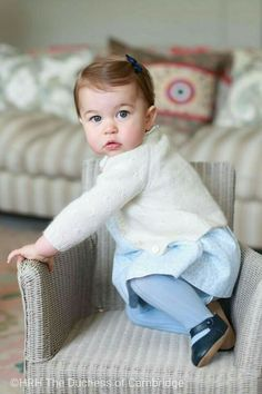 The Duke and Duchess of Cambridge are delighted to share new photographs of Princess Charlotte.  The Duchess took these photographs of her daughter in April at their home in Norfolk.  The Duke and Duchess are very happy to be able to share these important family moments, ahead of their daughter's first birthday.  We hope everyone enjoys these lovely photos as much as we do...