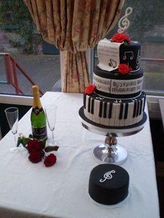 Beautiful Musical Cake