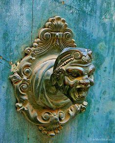 Heurtoir à Venise - Italy