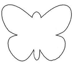 Plantillas de mariposas para imprimir - Imagui