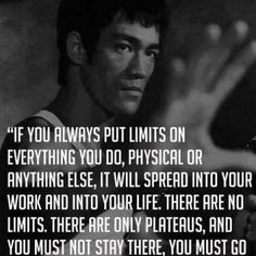 There are no limits..