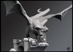 ArtStation - Dragon, pablo vicentin