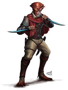 Erathi Solarian - Pathinder/Starfinder RPG (Aethera Campaign Setting Art) - Dio Mahesa