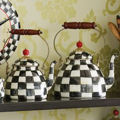 Love to give the super size teapot as a gift; it makes such a statement.