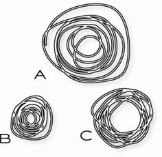 Papertrey Ink - Circle Scribbles Die Collection (set of 3)