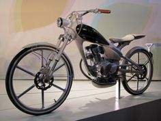 Yamaha concept motorcycle...looks like a bike.