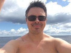 Just Go #JustGo - Sanderlei: Praia da Ponta Negra - Manaus - Amazonas AM - Brasil