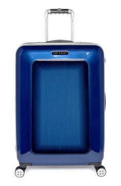 ce53552aeaaae0 Ted Baker London Medium Herringbone Rolling Suitcase (28 Inch) available at   Nordstrom Suitcases
