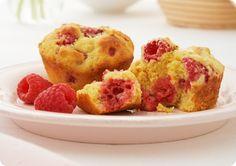 raspberry-orange muffins