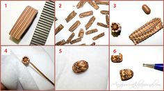 "tutorial - ""fake chevron"" or ""cocoa beans""  beads by Anna Jour, via Flickr"