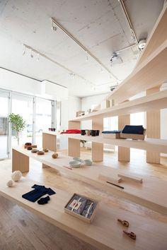 modern retail design in tokyo, japan