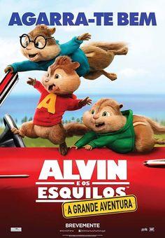 Filme / ALVIN E OS ESQUILOS: A GRANDE AVENTURA Quando se discorda de algo. Com o comentário de Nuno Ramos.