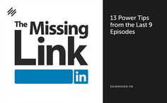 13 LinkedIn Power Tips from the First 9 Episodes of The Missing Link - http://feeds.copyblogger.com/~/105123742/0/copyblogger~LinkedIn-Power-Tips-from-the-First-Episodes-of-The-Missing-Link?utm_source=rss&utm_medium=Friendly Connect&utm_campaign=RSS