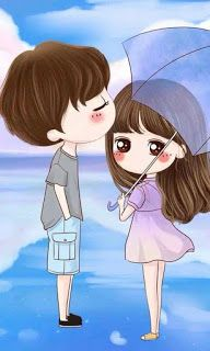 53 Ideas for wallpaper couple metade anime Cartoon Love Photo, Cute Couple Pictures Cartoon, Cute Chibi Couple, Cute Couple Drawings, Cute Love Cartoons, Cute Love Couple, Anime Love Couple, Cute Drawings, Love Couple Wallpaper