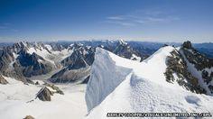 Nueva evidencia demuestra que los glaciares protegen las cumbres de los Alpes de Europa de la erosión y no son su causa.