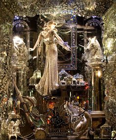 anthropologie window displays | ... window displays i have ever seen bergdorf goodman holiday window the