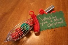 Cute and economical gift idea for teacher, hair dresser, etc. from Pampered Chef!
