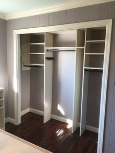 Captivating By Removing The Existing Bifolding Doors From The Reach In Closet This Space  Becomes Part Of