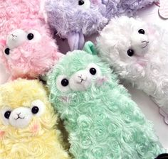 Alpaca My Pencil Case - The different style options for this pencil case include delightful colors such as pink, white, lavender, apple green, and yellow, $18.95