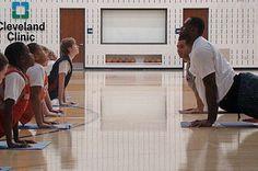 Yoga Pros: LeBron James