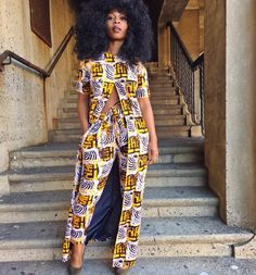 20 Places to Buy Modern African‐Inspired Clothing Online - BGLH Marketplace African Print Dresses, African Dresses For Women, African Attire, African Wear, African Women, African Prints, African Style, African Fabric, Modern African Dresses