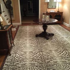 Just delivered!  A custom fabricated entry rug, @crescentcarpet #Zebra in color birch 9'6x14'6 for a client of @nantucketlooms in Greenwich, CT! (scheduled via http://www.tailwindapp.com?utm_source=pinterest&utm_medium=twpin&utm_content=post91839179&utm_campaign=scheduler_attribution)