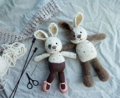 knitting constancy (Little Cotton Rabbits)