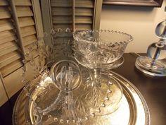 Elegant Vintage Glass HOBNAIL BOWL and by VintageCreativeAccen, $15.00