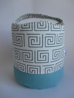 Your place to buy and sell all things handmade Cylinder Shape, Fox Pattern, Door Stopper, Owl Patterns, Teal And Grey, Bookends, Cotton Fabric, Coin Purse, Doorstop