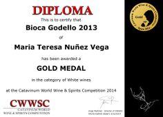 """Catavinum World Wine And Spirits Competition"" premia a la bodega de María Teresa Núñez Vega de la D.O. Valdeorras.  http://bit.ly/1pkvqeb"